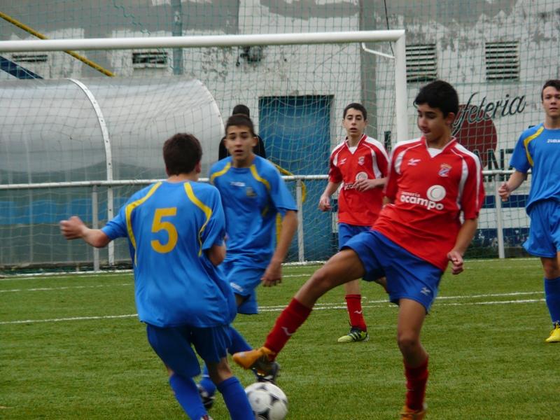 Cadetes: Perlio - Numancia (01/12/2012)