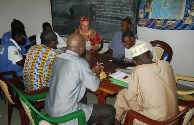 Ebola workshop in Senegal