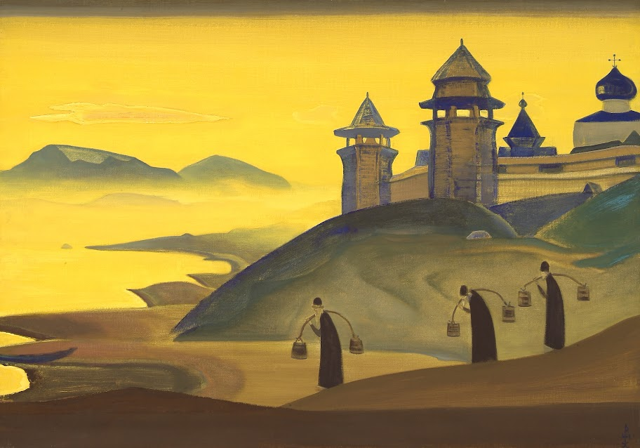 Nicholas Roerich - And We Are Trying
