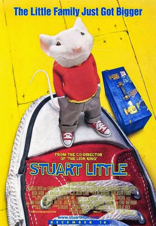 Poster Of Stuart Little (1999) Full Movie Hindi Dubbed Free Download Watch Online At alldownloads4u.com