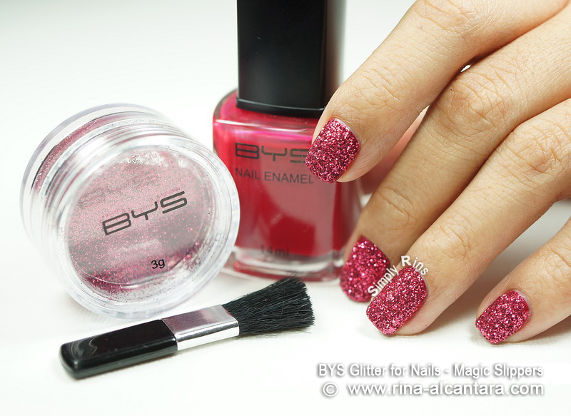 BYS Glitter for Nails Magic Slippers