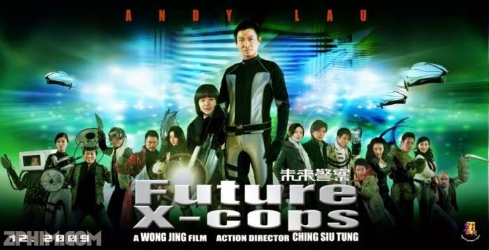 Ảnh trong phim Cảnh Sát Tương Lai - Future X-Cops 1