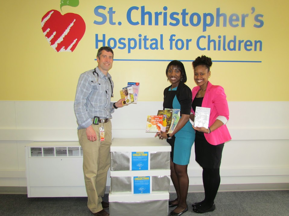 Donated books for Inspire a Child to Dream Day