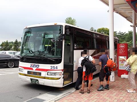 京王バス東「中央高速バス富士五湖線」 K60254 富士急ハイランドBT改札中