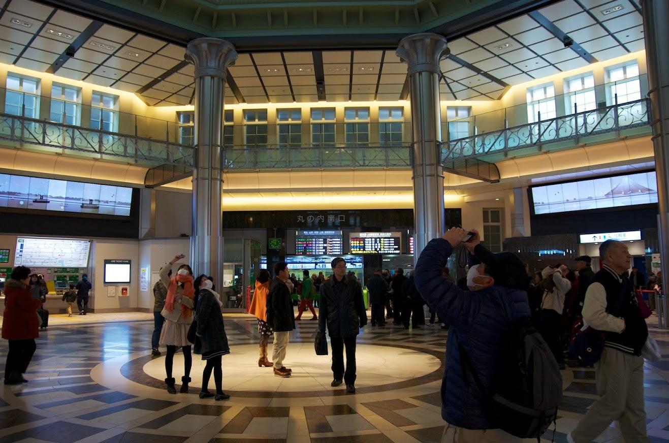 東京駅・丸の内南口