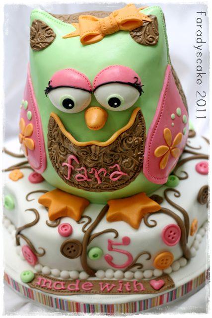 Owl Cake Pan Canada