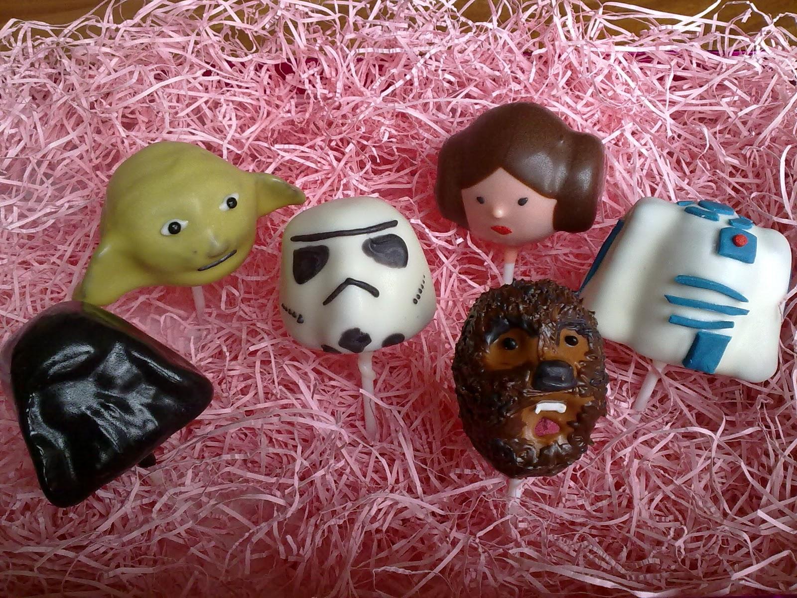 Princess Leia Cake Pops