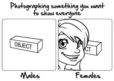 Como tomas las fotos las mujeres