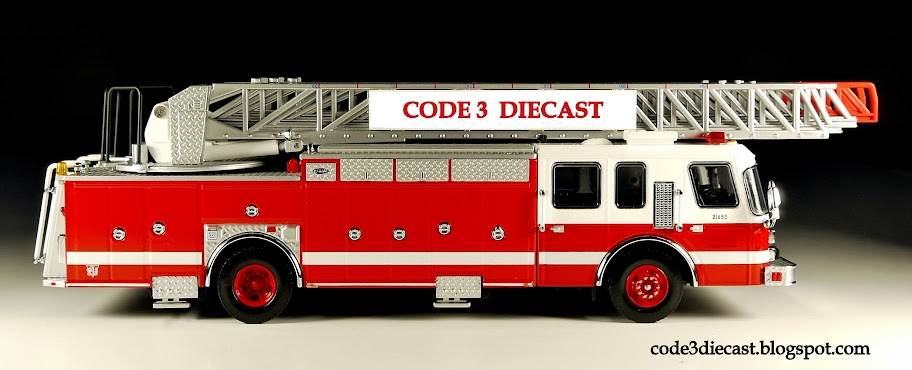 My Code 3 Diecast Fire Truck Collection