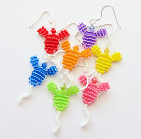 Mickey Balloon Earrings