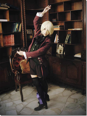 kuroshitsuji ii cosplay - alois trancy 5 by arturo pozo