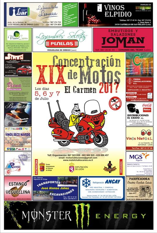 Cartel XIX Concentración EL CARMEN 2013