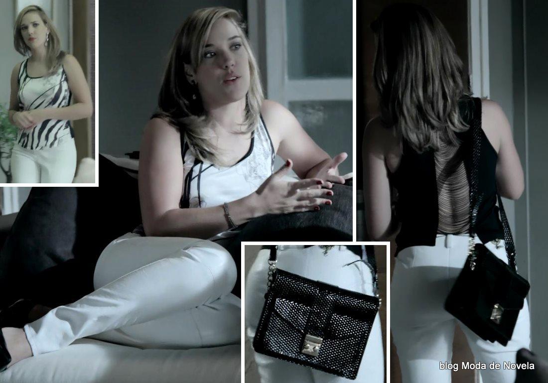 moda da novela Império, look da Amanda dia 26 de dezembro de 2014