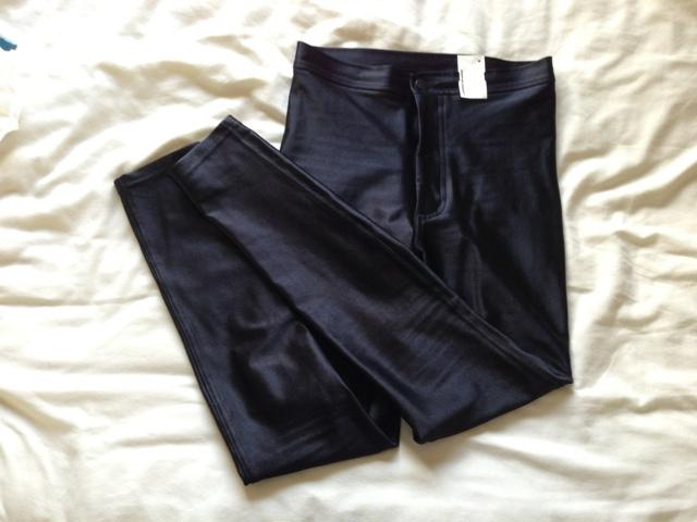 Black American Apparel Disco Pants
