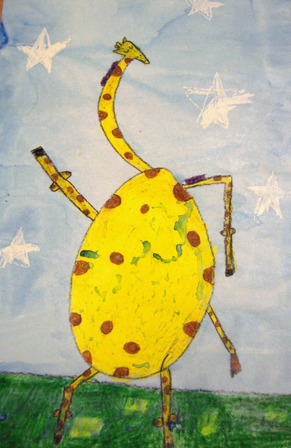 Art Project Giraffes Cant Dance