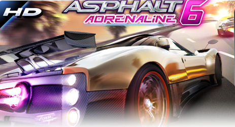 Asphalt 6 Adrenaline HD for Android