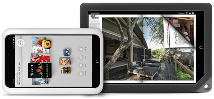 Barnes & Noble reveals new Nook HD lineup