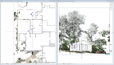 Revit Roof On Point Cloud Rendering Tip A Simple Material