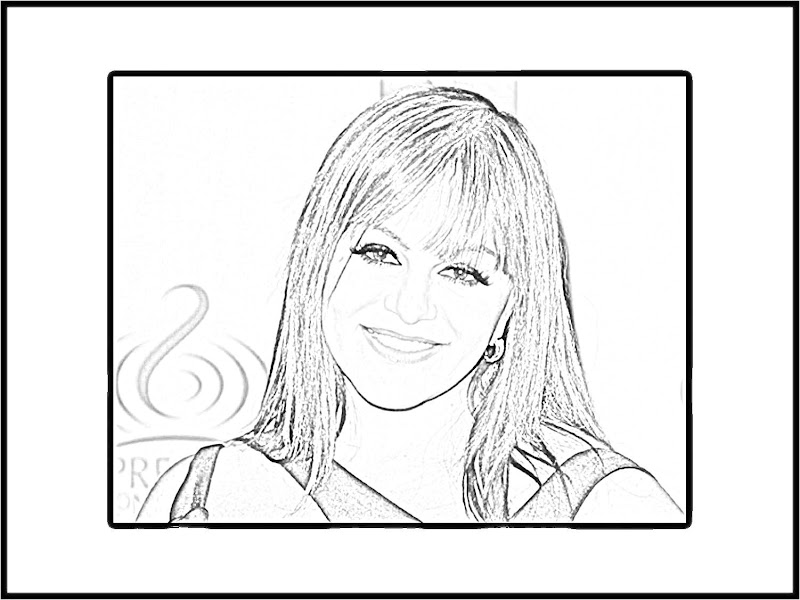 Jenni Rivera Coloring Pages