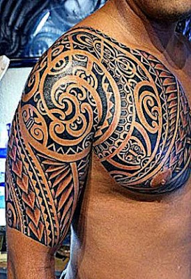 Samoan shoulder tattoo11