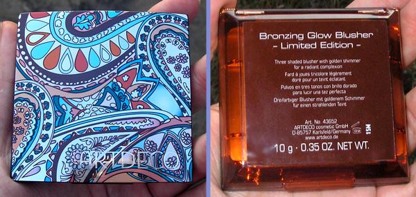 Закаты Марракеша - Румяна ArtDeco Bronzing Glow Blusher - коробочка