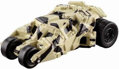 Mô hình xe ô tô của Người Dơi Batmobile 4th thật sinh động và đẹp mắt