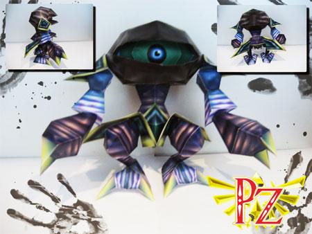 Eyegore Papercraft