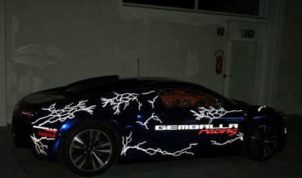 Gemballa, наример, превратила Bugatti Veyron в молнию.jpg