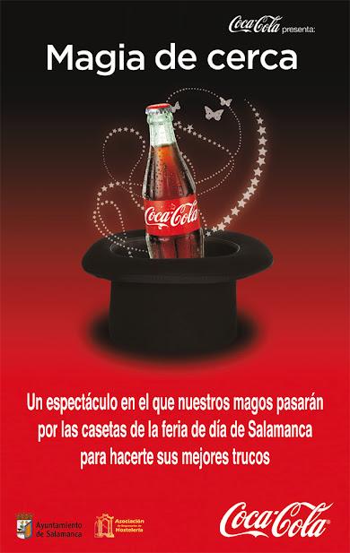 magia de cerca coca-cola cartel