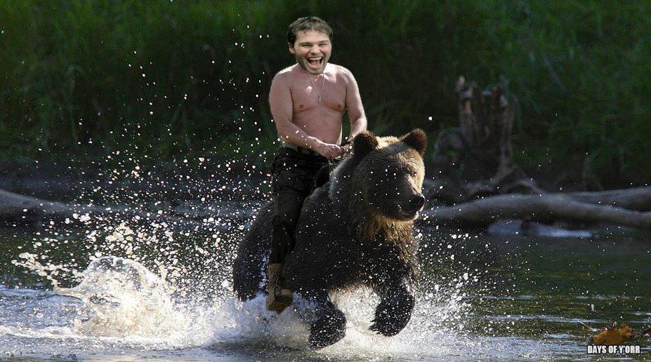 Jagr bear