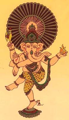 Hindu Gods Shri Ganeshupanishad Image