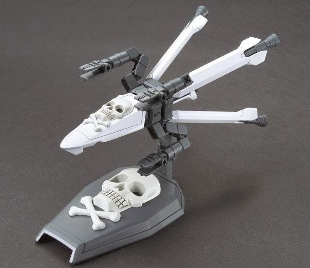 Vũ khí Gundam HG Build Custom 012 Skull Weapon tỷ lệ 1/144