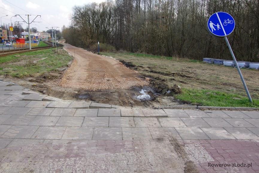 Dojazd do istniejącej infrastruktury w rondzie Biłyka.