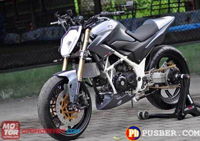 Modifikasi Motor Honda CB150R Terbaru