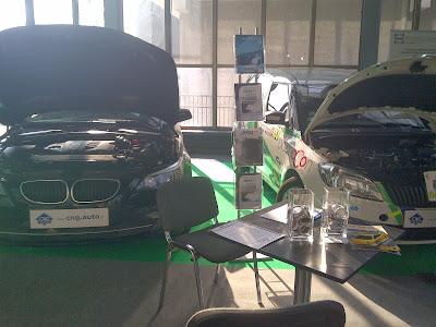 Gazodiesel CNG od Elpigaz na targach PolEko 2013
