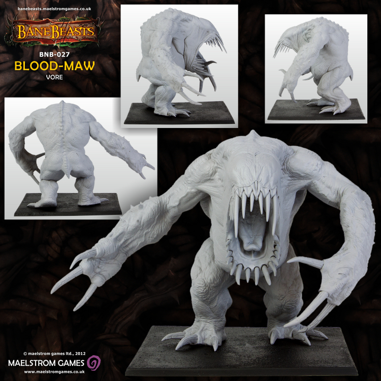 Blood-Maw, DarkLands, BaneBeast, Mierce Miniatures
