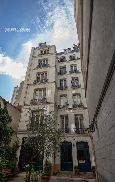 在巴黎攝影 -食宿