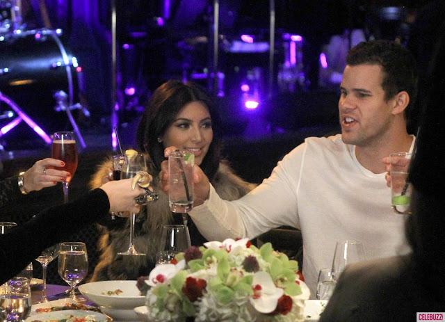 Kim Kardashian 31st Birthday Celebration Party with Kris