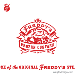 Freddy's Frozen Custard and Steakburgers logo design