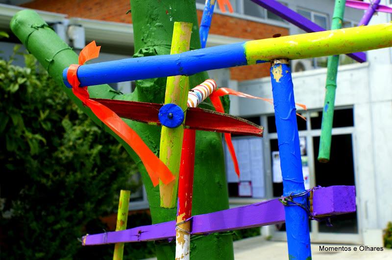 O jardim das cores
