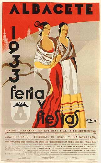 Cartel Feria Albacete 1933