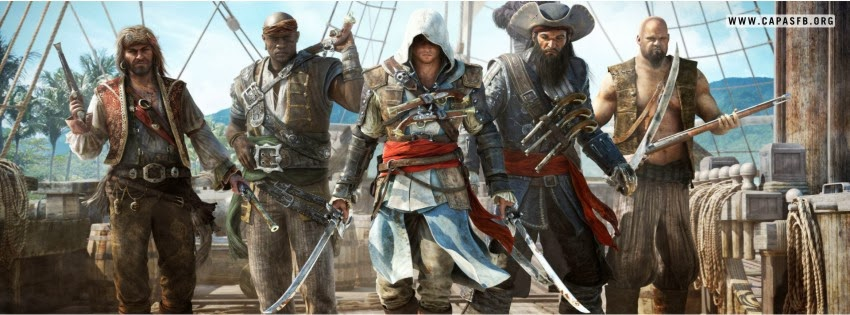 Capas para Facebook Assassins Creed IV
