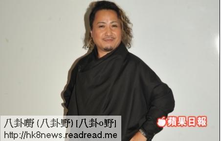 古明華昨晚到電視城為《萬千升呢福祿壽》任嘉賓
