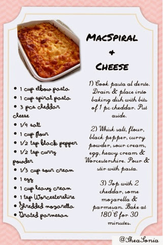 MacSpiral & Cheese by Shea Sonia recipe