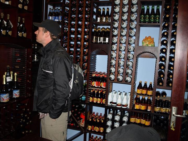 Beer storage room