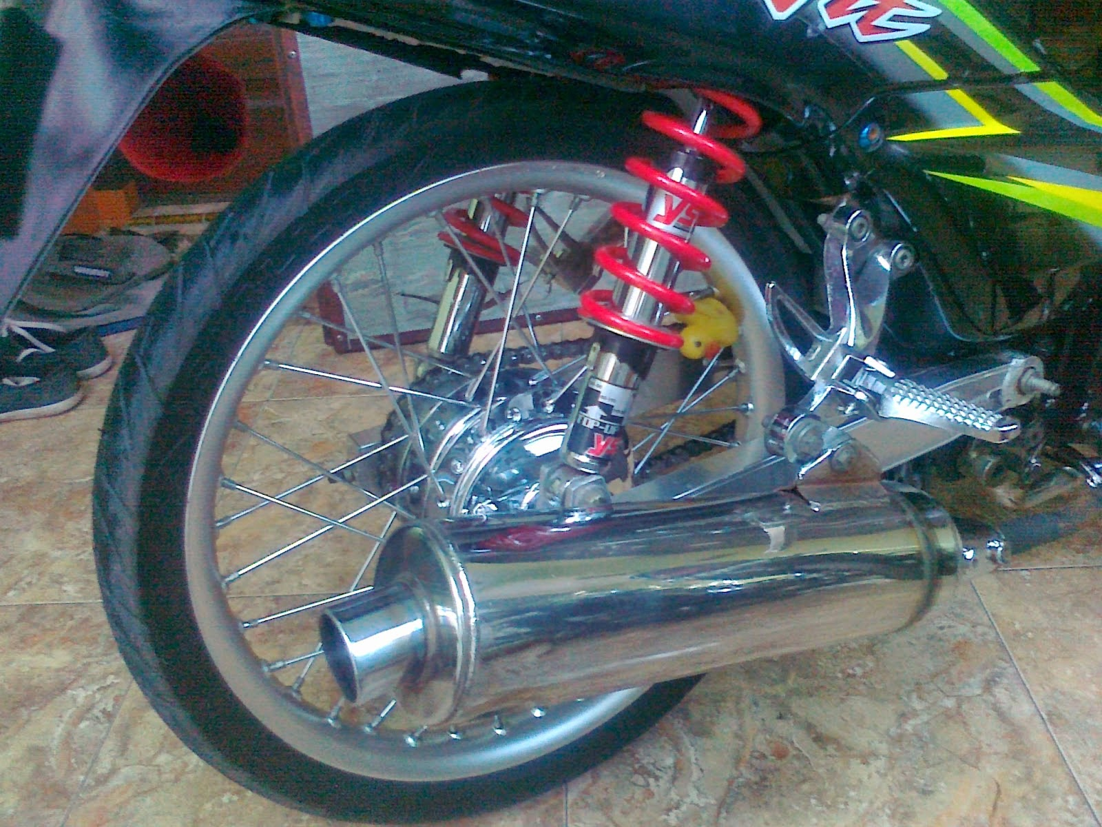 Revo Fit fi Modifikasi Motor Revo Fit