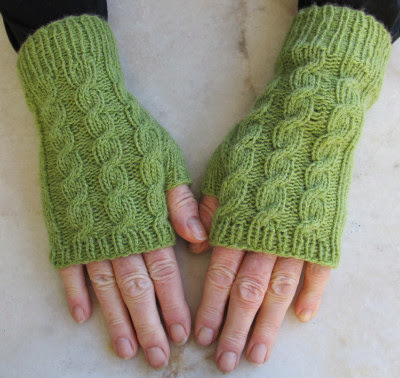 Handstulpen zur Mütze