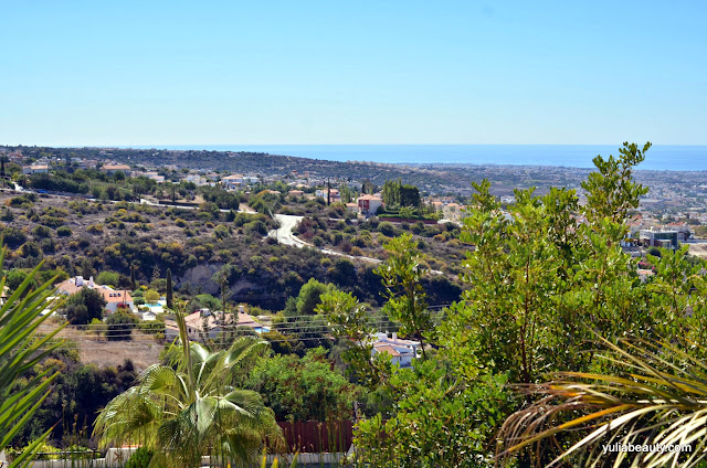 Кипр, вид с гор, Пафос