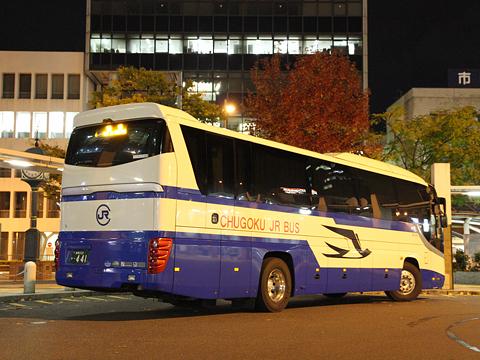 中国JRバス「出雲路」 641-0952 リア