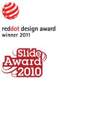 Design Awards von EVOC reddot und Slide Award 2010 zeigen die hohe EVOC Design Qualität